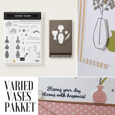 Stampin' Up! – Varied Vases – Stamping Tutorial pakket #3