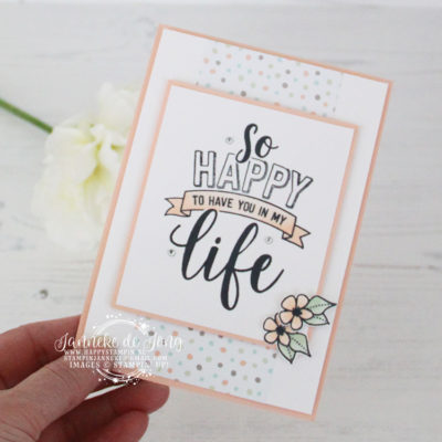 Stampin' Up! – Amazing Life – workshop