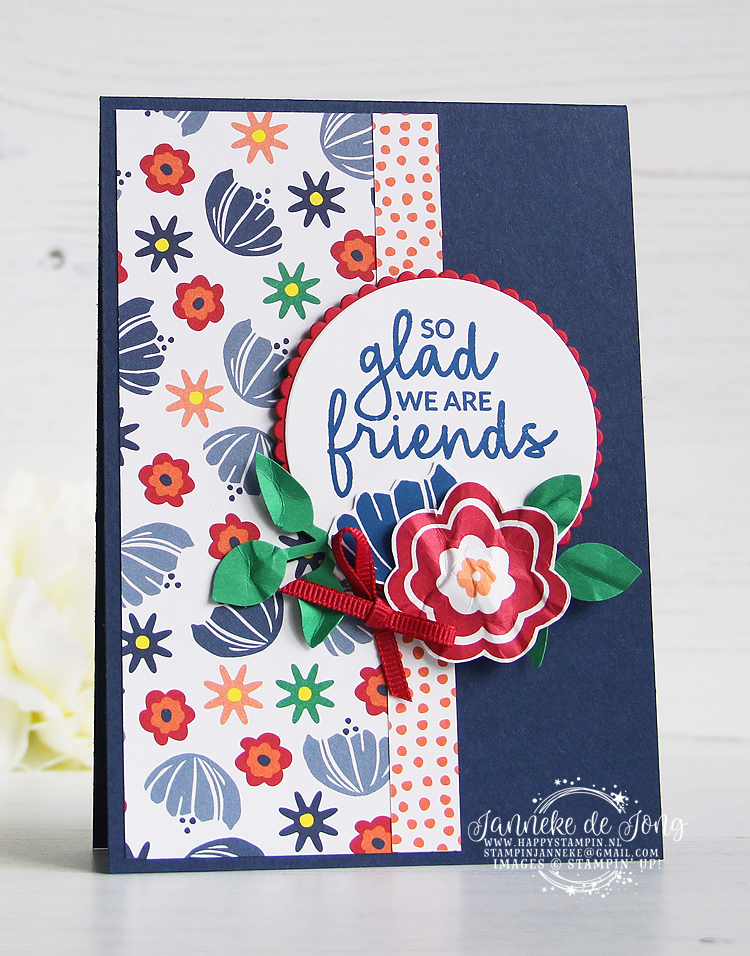 Stampin' Up! - Janneke de Jong - Bloom by Bloom - Inspiratie en Verkoop van Stampin' Up!