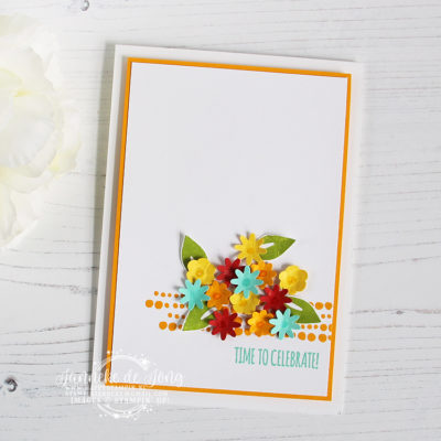 Stampin' Up! – Bitty Blooms Punch Pack – Time to celebrate