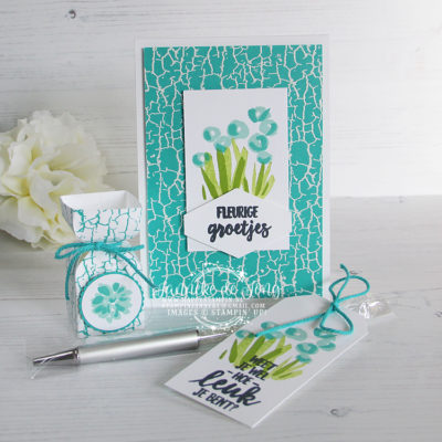 Stampin' Up! – Stamping Sunday Bloghop – Crackle Paint.