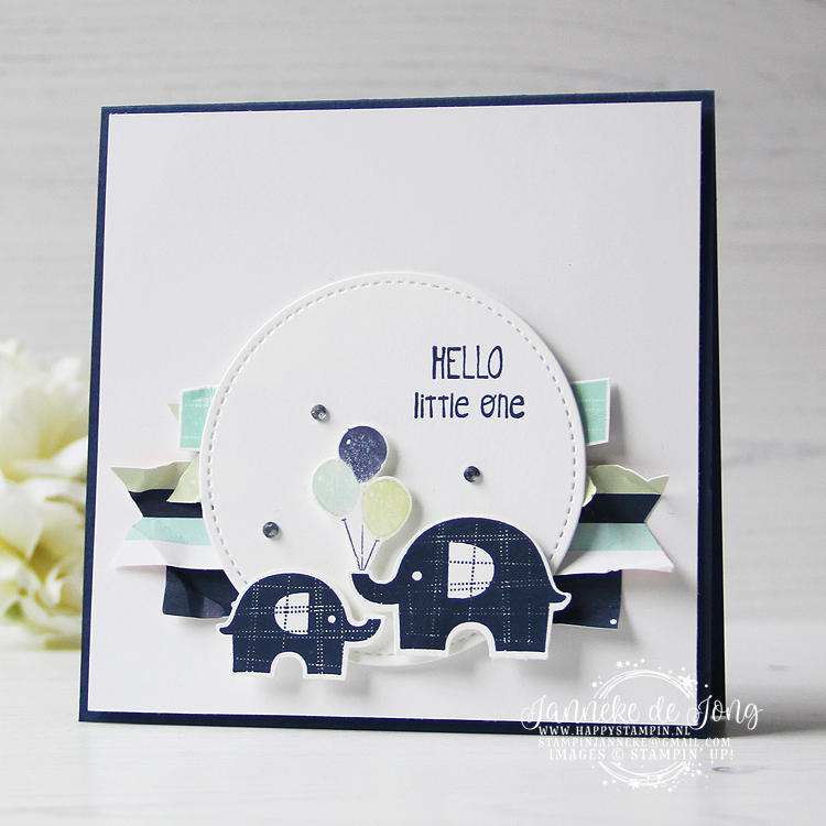 Stampin' Up! - Janneke de Jong - Little Elephant - Inspiratie en Verkoop van Stampin' Up!