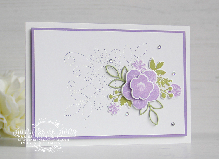 Stampin' Up! - Janneke de Jong - Needle & Thread - Inspiratie en Verkoop van Stampin' Up!