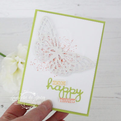 Stampin' Up! – Sending happy thoughts – Global Design Project #181