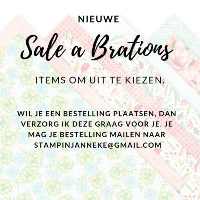 Stampin' Up! – Sale a Brations #3 & Coordinations