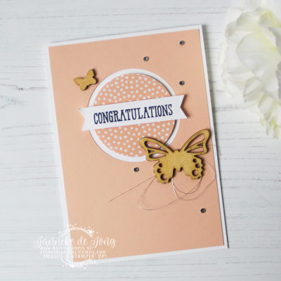 Stampin' Up! – Well Said – Congratulations