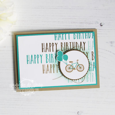 Stampin' Up! – Perennial Birthday – Happy Stars Bloghop