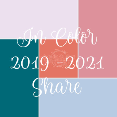 Stampin' Up! – In Color 2019 -2021 share