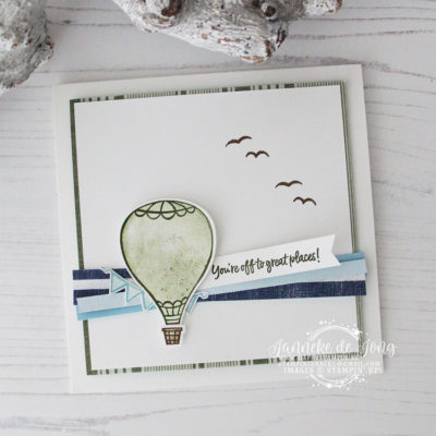 Stampin' Up! – Above the Clouds – Global Design Project #190