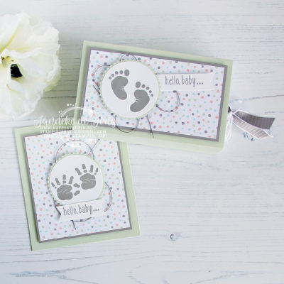 Stampin' Up! – First Steps – hello baby
