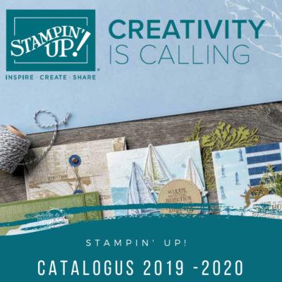 Stampin' Up! – Nieuwe catalogus 2019 -2020