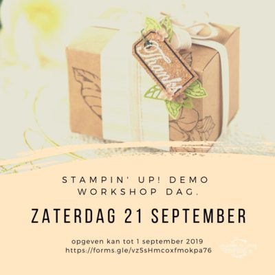 Demo workshop dag 2019