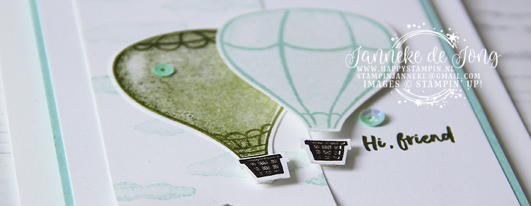 Stampin' Up! - Janneke de Jong - Above the Clouds - Inspiratie en Verkoop van Stampin' Up!