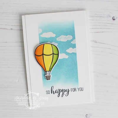Stampin' Up! – Above the Clouds – So Happy