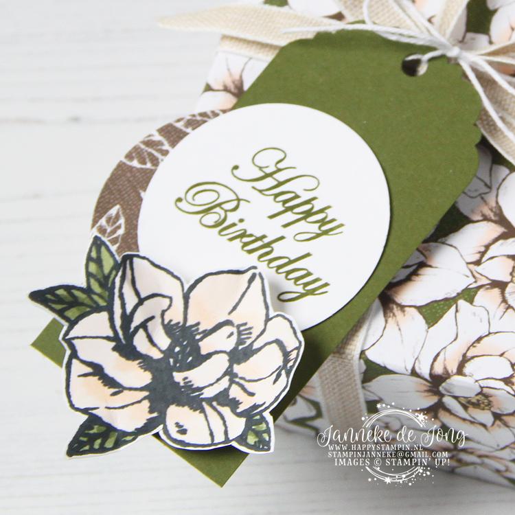 Stampin' Up! - Happy Stampin' - Janneke de Jong - Magnolia Blooms - Inspiratie en Verkoop van Stampin' Up!