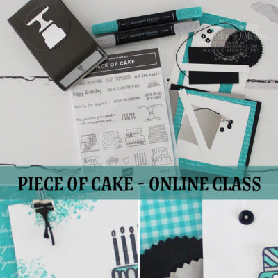 Stampin' Up! – Piece of Cake – Online class