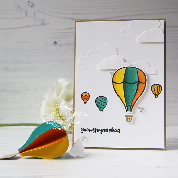 Stampin' Up! - Happy Stampin' - Janneke Dijkstra de Jong - Above the Clouds - Inspiratie en Verkoop van Stampin' Up!