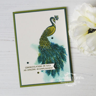 Stampin' Up! – Royal Peacock – Aloha blog hop