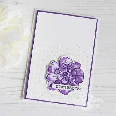 Stampin' Up! – To a wild rose – So Happy