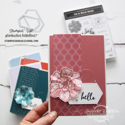 Stampin' Up! – In Colors – Be Inspired blog hop