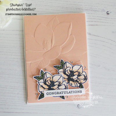 Stampin' Up! – Magnolia Blooms – Global Design Project #200