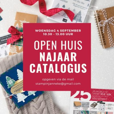 Stampin' Up! – Open huis