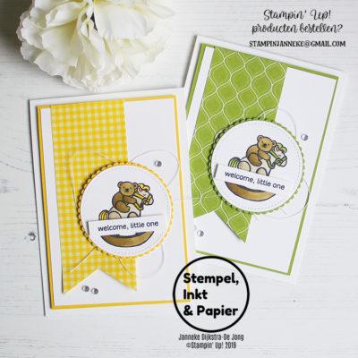 Stampin' Up! – Hoot Hoot Hooray – Stempels, Inkt & Papier