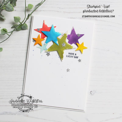 Stampin' Up! – Stitches Stars Dies – Global Design Project #203