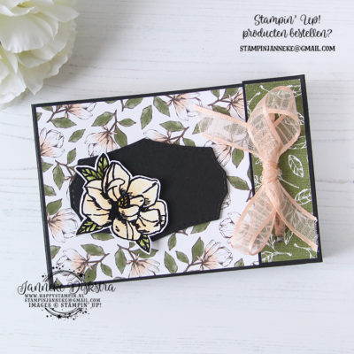 Stampin' Up! – Magnolia Blooms – Stamping Sunday blog hop