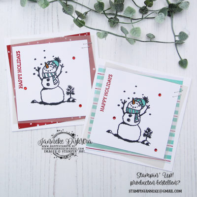Stampin' Up! – Snowman Season – Happy Holidays