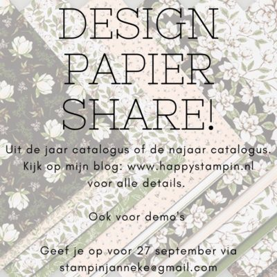Stampin' Up! – Design Papier Share