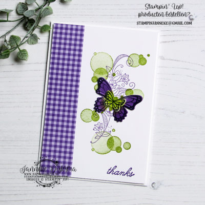 Stampin' Up! – Beauty Abounds – Thanks & You Tube