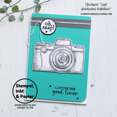 Stampin' Up! – Capture the Good – Stempels, Inkt & Papier