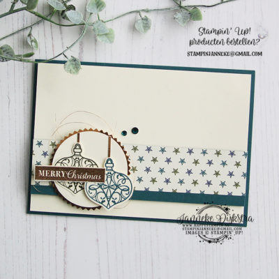 Stampin' Up! – Christmas Gleaming – Global Design Project #206
