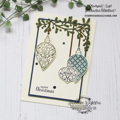 Stampin' Up! – Christmas Gleaming – Be Inspired bloghop