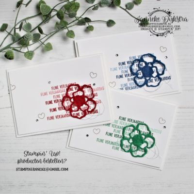 Stampin' Up! – Van alles wat – Global Design Project #209
