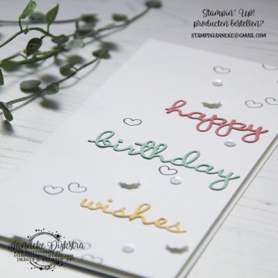 Stampin' Up! – Well Written – Global Design Project #205