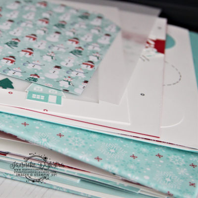 Stampin' Up! – December album workshop