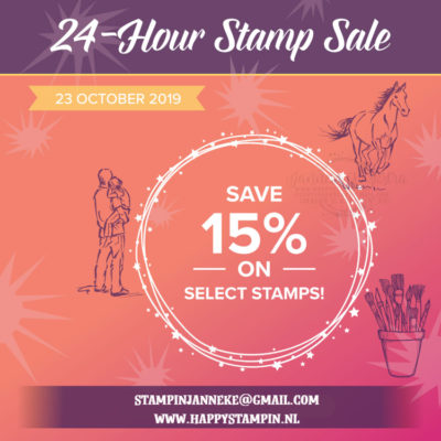 Stampin' Up! – Sale – 15% korting!