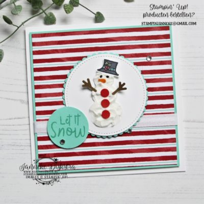 Stampin' Up! – Snowman Season – Stamping Sunday blog hop & You Tube