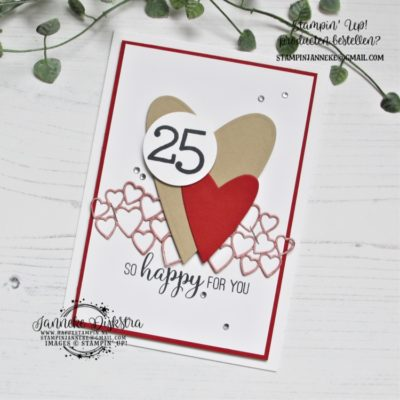 Stampin' Up! – Be Mine Dies – Global Design Project #211