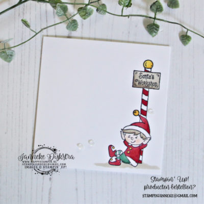 Stampin' Up! – CAS on Friday – #Elfie