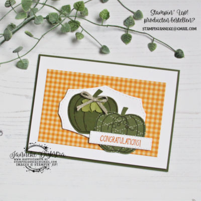 Stampin' Up! – Harvest Hellos – Congratulations & You Tube