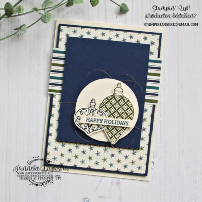 Stampin' Up! – Christmas Gleaming – Global Design Project #210