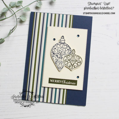 Stampin' Up! – Happy Stars Team bloghop – Kerst