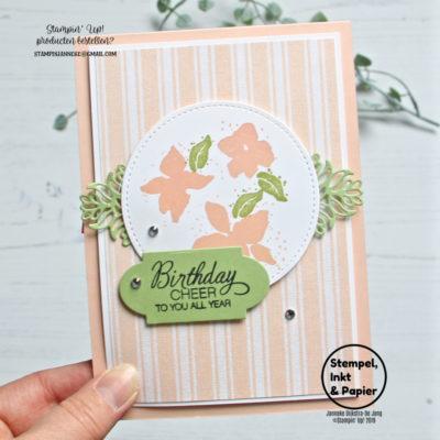 Stampin' Up! – Parcels & Petals – Stempels, Inkt & Papier