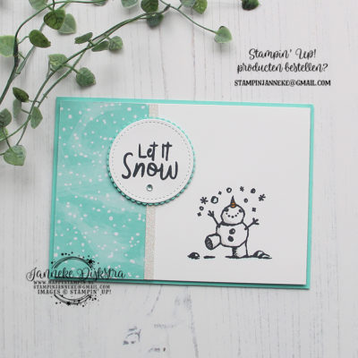 Stampin' Up! – Snowman Season – Let it Snow & You Tube.