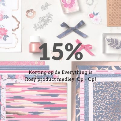 Stampin' Up! – Everything is Rosy 15% korting ;-)