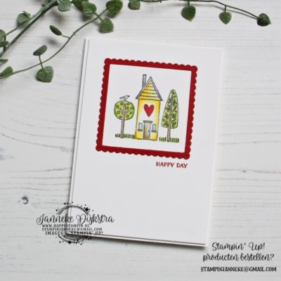 Stampin' Up! – Happy Day – CAS on Friday