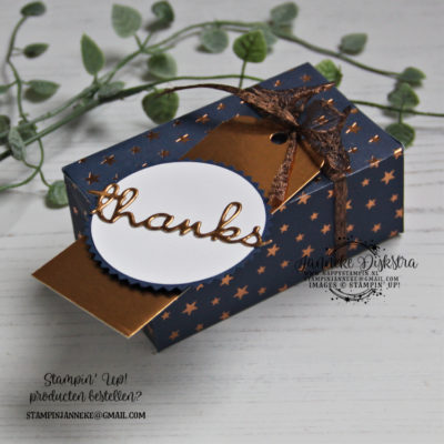 Stampin' Up! – Brightly Gleaming – Stamping Sunday blog hop & You Tube